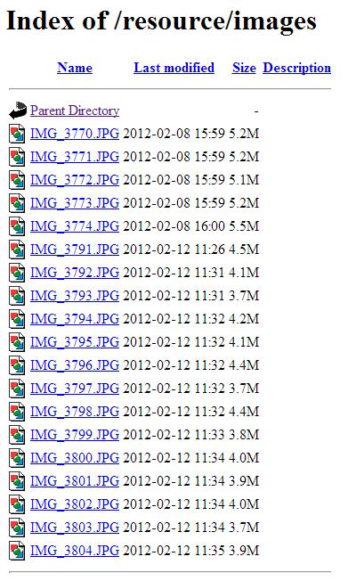 หากโดนเรียก Directory ตรงๆ ก็อาจจะโดนขโมยรูปได้ง่ายๆ เลยหล่ะ